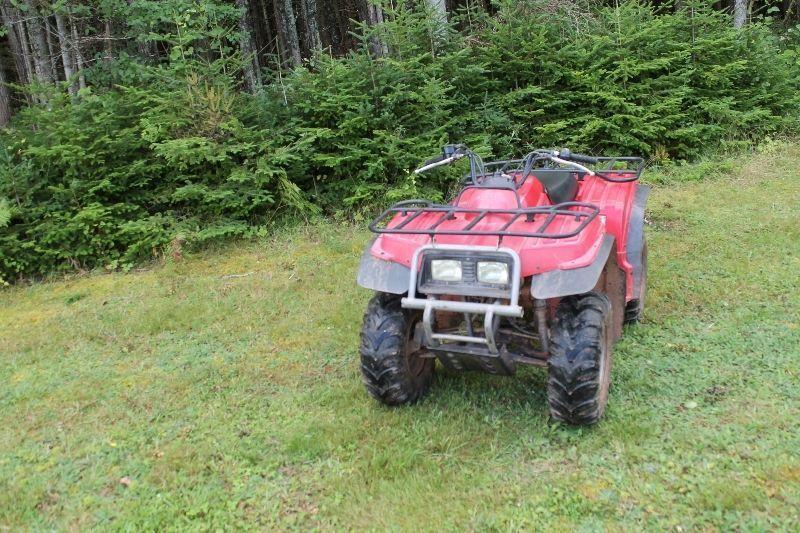 1999 Bear Tracker 250 2wd Four Wheeler