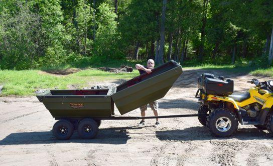 ATV TRAILER - FLIPS INTO A BOAT !!! ** $32 per WEEK **