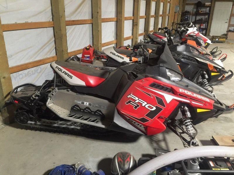 Trade sled or sleds for dump trailer