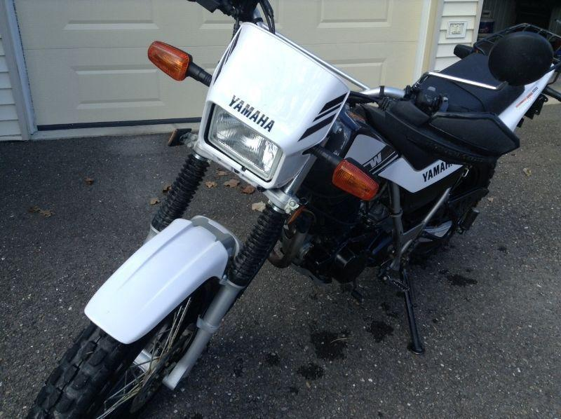 2015 Yamaha TW 200 dual purpose motorcycle