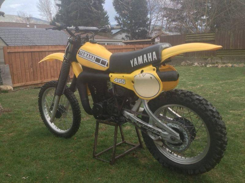 Yz vintage plastic brick7 motorcycle for Yamaha dirt bike plastics