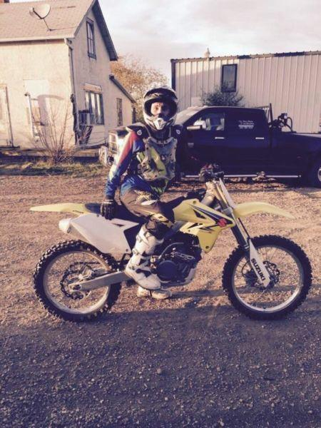 Wanted: 07 Suzuki 250cc (seized) Dirt Bike For Sale