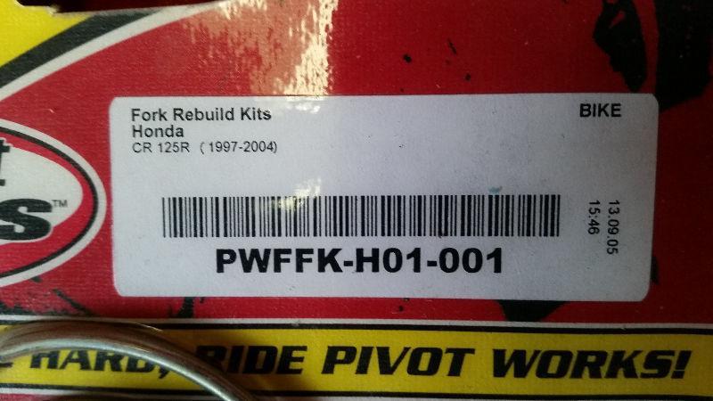 HONDA CR 500 Shock rebuild Kit/Fork Rebuild kit