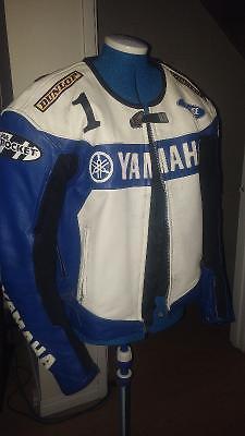 Joe Rocket Yamaha Leather Jacket (46/Large)