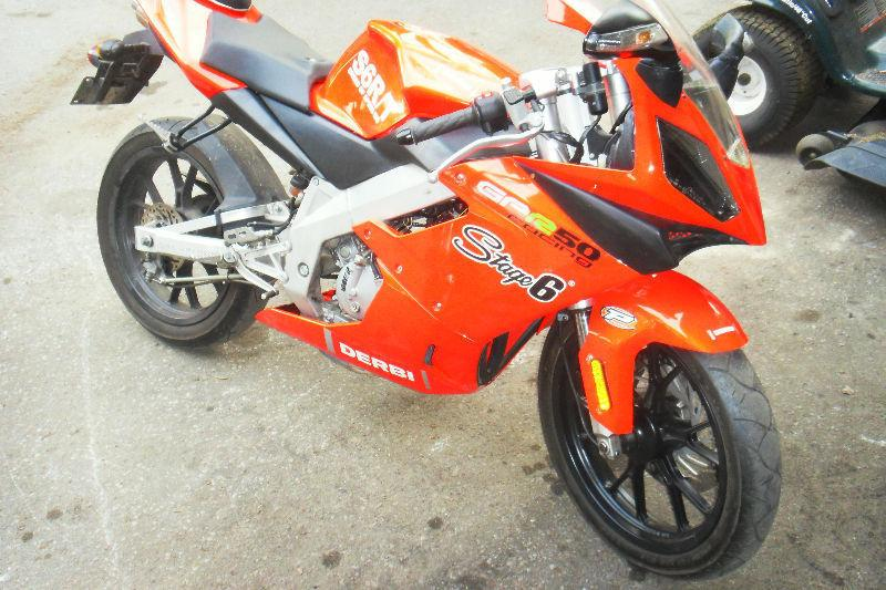 derbi gpr 50 2005 avec kit 80cc