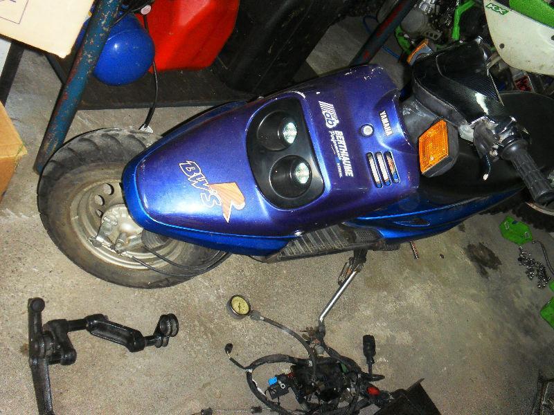 scooter yamaha zuma 1990 50cc kit malosi 70