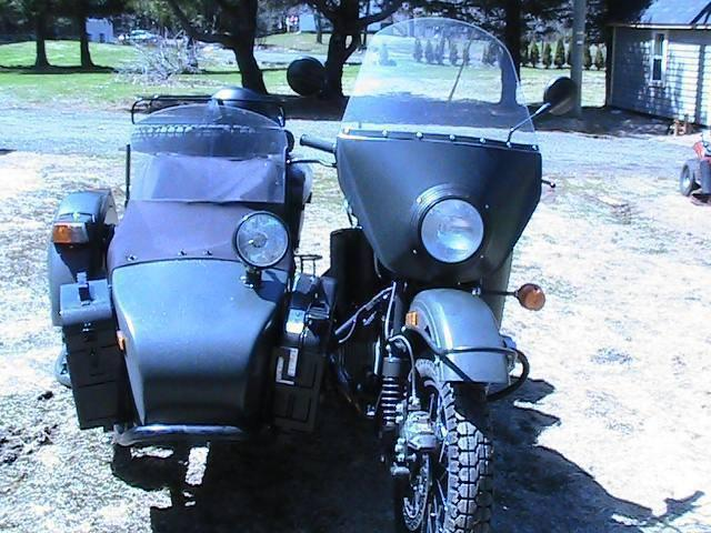 2013 ural motorcycle with sidecar, $ 10.500 obo