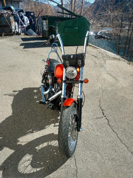 Harley Davidson Street Bob, will trade for a Road King