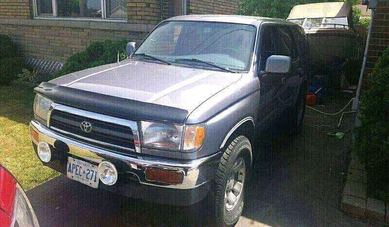 1997 toyota 4runner sr5 v6 4x4 auto trade for a 4x4 atv