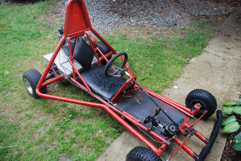 how to build a go kart with a motorbike engine