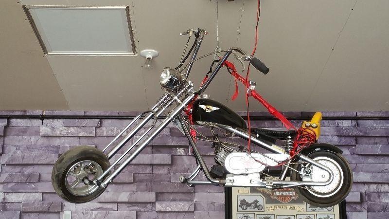 Kikker 5150, 2 Stoke Engine,Chopper Pocket Bike