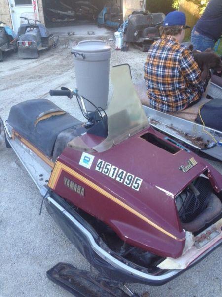 Rolling chassis Yamaha Sno jet