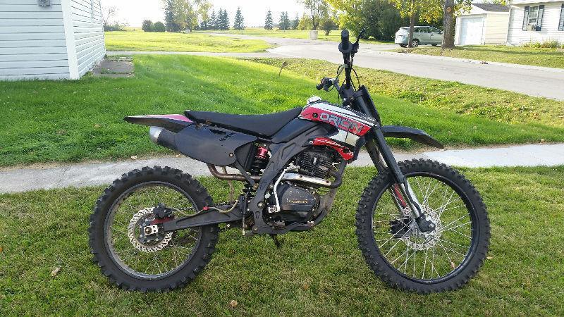 Orion 250CC Dirtbike