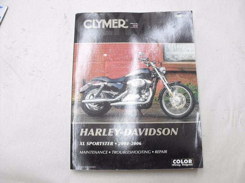 Clymer HD Sportster 2004-2006 Maintence/Repair manual 40 OBO