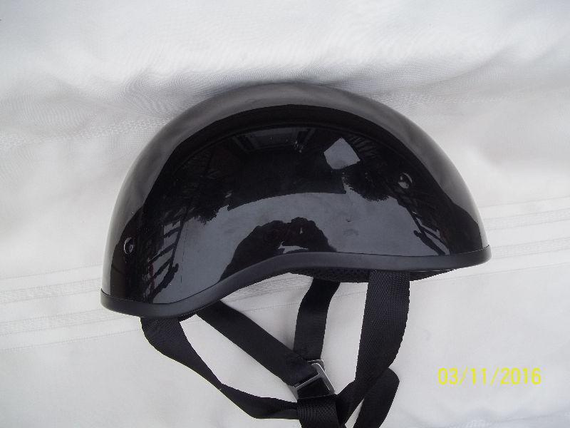 ZOX Open Half Face Motorcycle Scooter Helmet Black XS, DOT