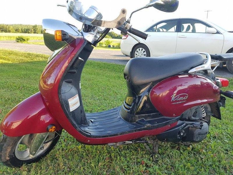 Yamaha Vino Scooters- take your pick!