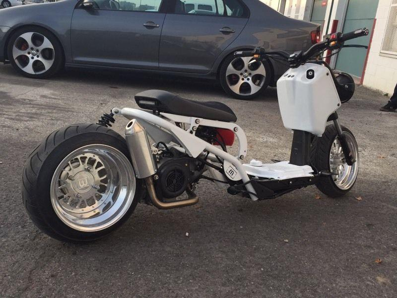 customized ruckus scooters brick7 motorcycle. Black Bedroom Furniture Sets. Home Design Ideas