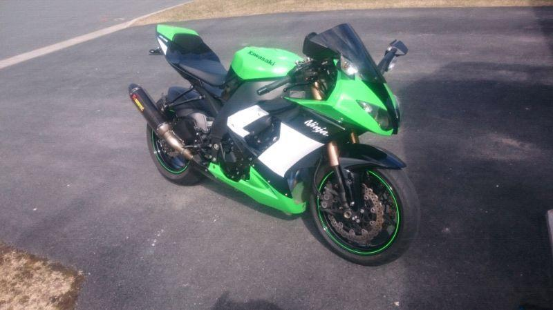 2009 Kawasaki zx10r special edition