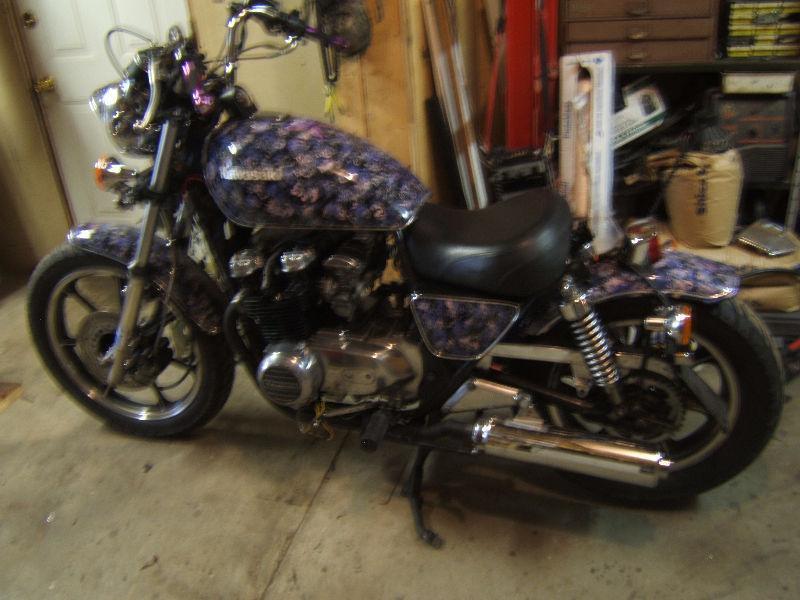 1980 Kawasaki KZ 550 Bobber