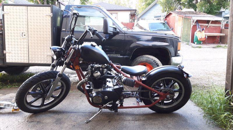 1978 xs650 hardball chopper/bobber