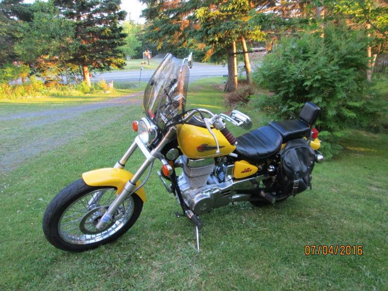 FOR SALE OR TRADE SUZUKI LS 650 SAVAGE for a HONDA V45 Magna