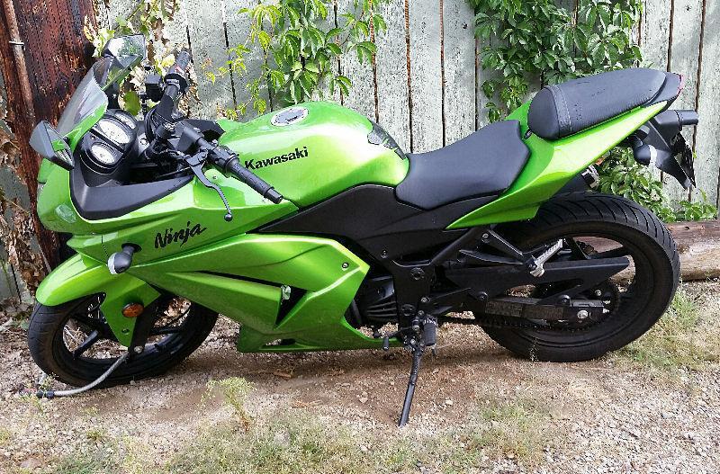 2012 ninja kawasaki 250