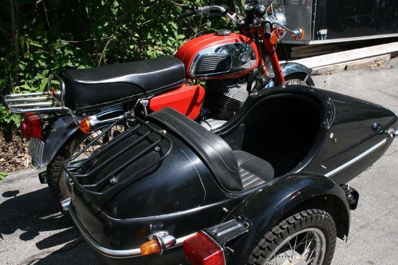 1978 350cc Jawa Twin with Velorex Sidecar