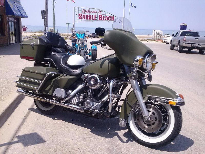 FLHT Classic Harley Davidson