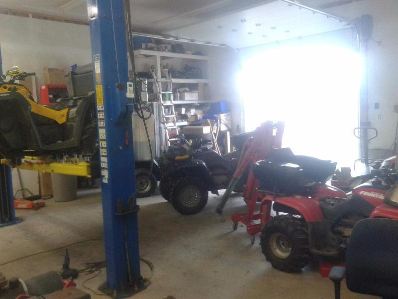 ATV & Dirt Bike Repair Shop