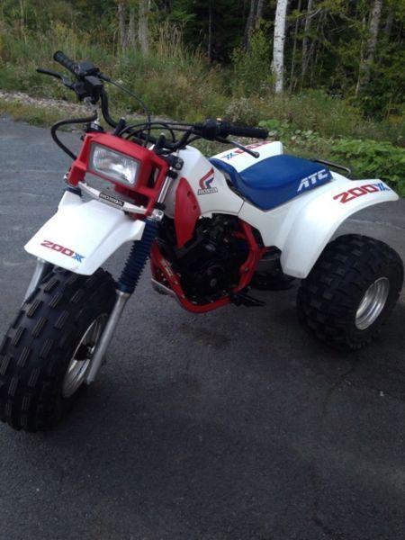 1986 Honda atc 200x