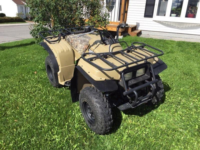 Yamaha 250 Bear tracker