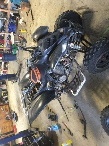 *COMPLETE PART OUT* 2003 Yamaha Raptor 660R